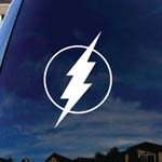 Flash Bolt Comic Superhero Car Window Vinyl Decal Sticker