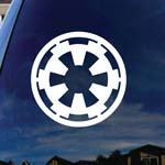 Galactic Symbol For The Empire Car Window Vinyl Decal Sticker