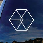 Kpop Symbol Band Car Window Vinyl Decal Sticker
