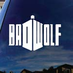 Doctor DW Wolf Who Car Truck Laptop Sticker Decal