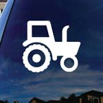 Tractor Silhouette Farm Car Window Vinyl Decal Sticker