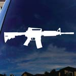 Rifle Sight Car Window Vinyl Decal Sticker