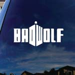 Bad Doctor DW Wolf Police Box Car Window Vinyl Decal Sticker