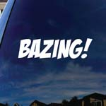 Bazing Parody Car Window Vinyl Decal Sticker 5