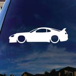 JDM Car Silhouette Car Window Vinyl Decal Sticker 5