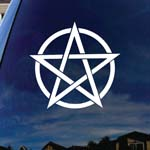 Pentagram Band Car Truck Laptop Sticker Decal 6