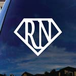 Super RN Nurse Car Window Vinyl Decal Sticker 5