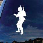 Fett Silhouette Character Car Window Vinyl Decal Sticker 6