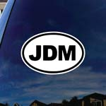 JDM Oval Sticker Japanese Domestic Market Car Window Vinyl Decal Sticker 6