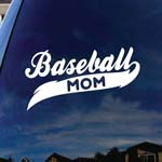 Baseball Mom Car Window Vinyl Decal Sticker 5