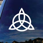 Triquetra Pagan Wiccan Car Truck Vinyl Decal 5