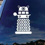 Doctor DW Robot Who Character Car Window Vinyl Decal Sticker 6