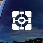 Companion Heart Cube Car Truck Laptop Sticker Decal 5