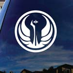 Galactic Symbol Empire Republic Car Window Vinyl Decal Sticker 6
