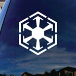 Old Republic Sith Empire Symbol Car Window Vinyl Decal Sticker 5