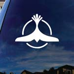 Dove Trance Techno Music Car Truck Laptop Sticker Decal 5