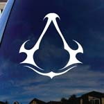 Assassin's Game Symbol Car Truck Laptop Sticker Decal 5