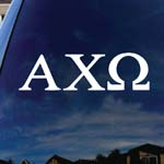 Alpha Chi Omega Sorority Car Window Vinyl Decal Sticker 7