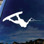 Wakeboarder Wakeboarding Car Window Vinyl Decal Sticker 6