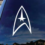 Trek Symbol Federation Car Window Vinyl Decal Sticker 6