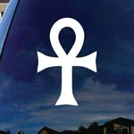 Ankh Egyptian Cross Car Truck Laptop Sticker Decal 6