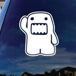 Cartoon Waving Kun Monster Hi Car Window Vinyl Decal Sticker 4