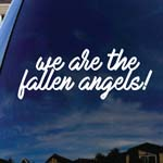 We Are The Fallen Angels Song Lyrics Car Window Vinyl Decal Sticker 5