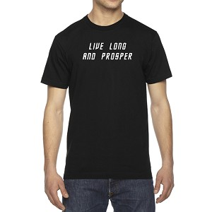 Men's Live Long Prosper - Spock Vulcan T-Shirt