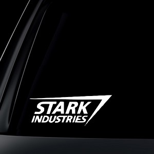 Stark Industries Car Decal / Sticker