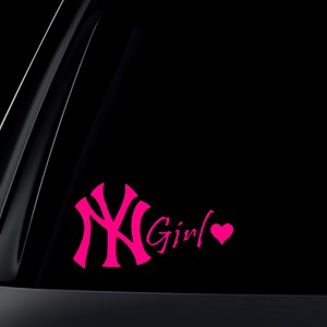 New York Girl Car Decal / Sticker