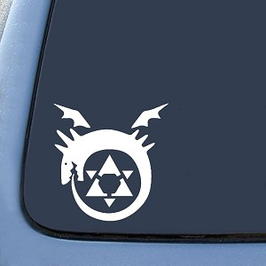 Full Metal Homunculus Anime  Sticker Decal Notebook Car Laptop