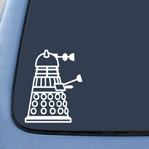 Dalek Side Sticker Decal Notebook Car Laptop