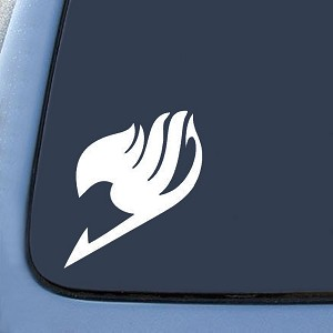 Fairy Tail Logo Sticker Decal Notebook Car Laptop