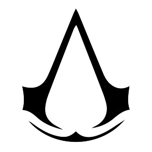 Assassin Logo Sticker Decal Notebook Car Laptop
