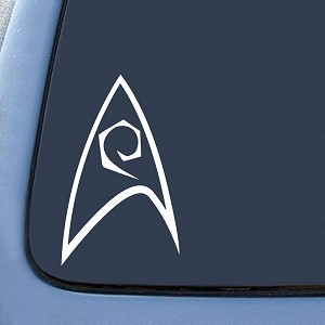 Starfleet Engineering Insignia Sticker Decal Notebook Car Laptop