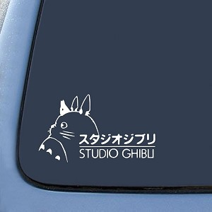 TOTORO Ghibli Laputa Jdm Anime Sticker Decal Notebook Car Laptop