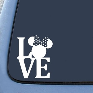 Minnie Love Sticker Decal Notebook Car Laptop