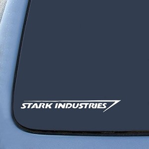 Stark Industries Sticker Decal Notebook Car Laptop