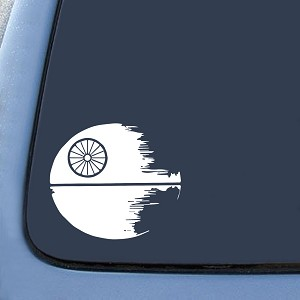 DEATH STAR Sticker Decal Notebook Car Laptop