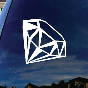 Diamond Car Window Vinyl Decal Sticker