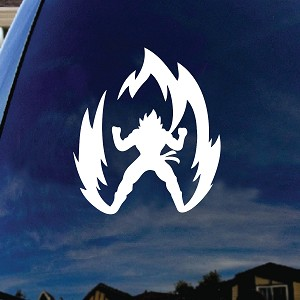 Super Saiyan Goku Car Window Vinyl Decal Sticker