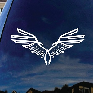 Assassin's Wings Symbol Game Car Window Vinyl Decal Sticker