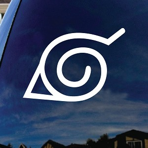 Hidden Leaf Village Car Window Vinyl Decal Sticker