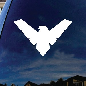 "Kryptonian Car Truck Laptop Sticker Decal 4"" Wide"